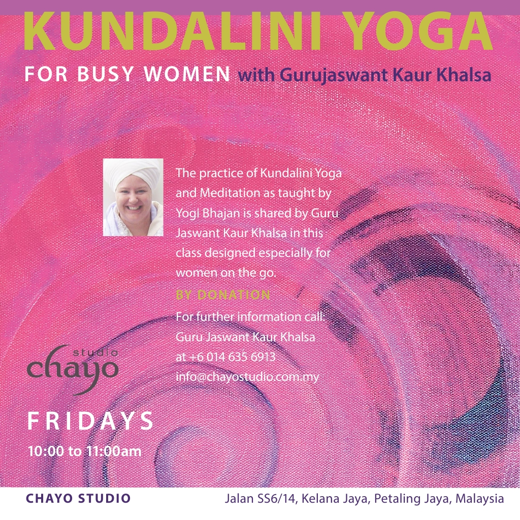 Friday Womens Class with Gurujaswant Kaur Khalsa