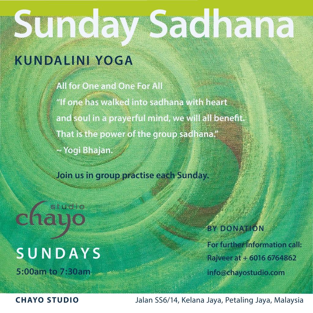 sunday_sadhana